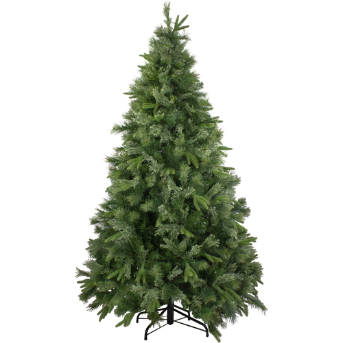 7.5' Green Medium Ashcroft Cashmere Pine Artificial Christmas Tree - Unlit - IMAGE 1