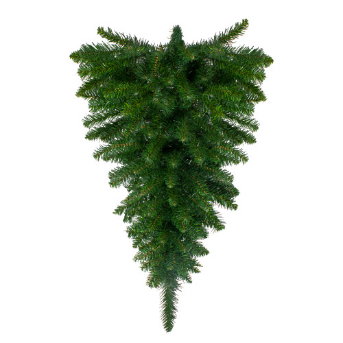 "36"" Buffalo Fir Artificial Christmas Teardrop Swag - Unlit - IMAGE 1"