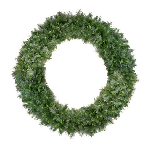 Ashcroft Cashmere Pine Artificial Christmas Wreath - 72-Inch, Unlit - IMAGE 1
