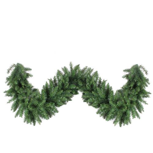 "25' x 20"" Buffalo Fir Commercial Length Artificial Christmas Garland - Unlit - IMAGE 1"