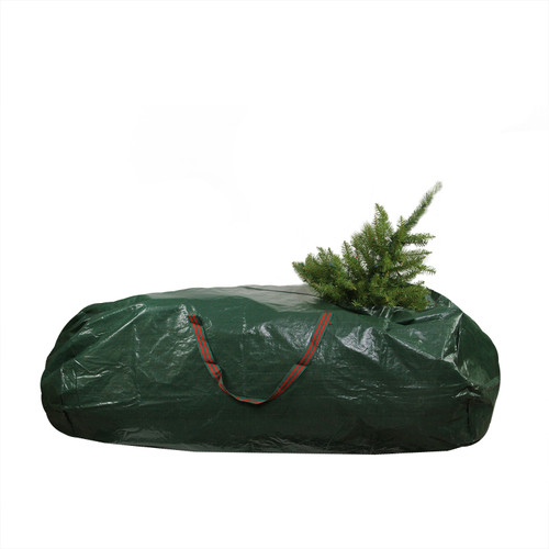 """56"""" Green and Red Artificial Christmas Tree Storage Bag - IMAGE 1"""
