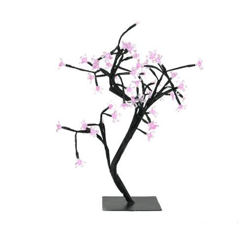 "18"" LED Lighted Japanese Sakura Blossom Flower Tree - Pink Lights - IMAGE 1"
