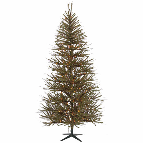6' Prelit Medium Decorative Vienna Twig Artificial Christmas Tree - Clear Dura-Lit Lights - IMAGE 1