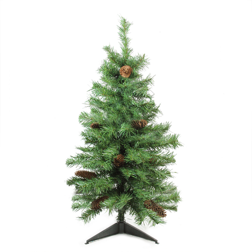 3' Medium Dakota Pine Artificial Christmas Tree - Unlit - IMAGE 1