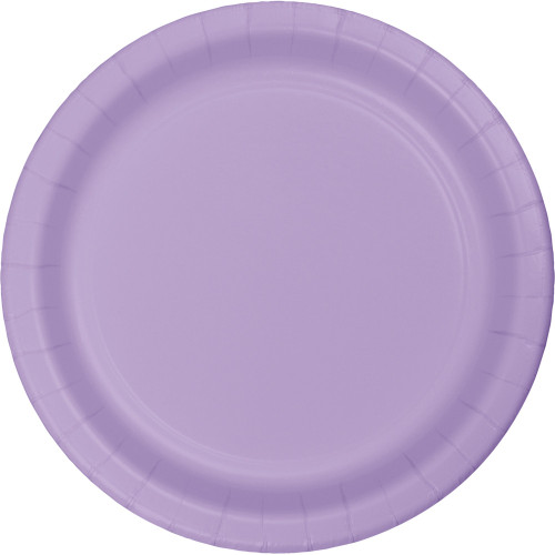 """Club Pack of 240 Luscious Lavender Disposable Paper Party Banquet Dinner Plates 9"""" - IMAGE 1"""