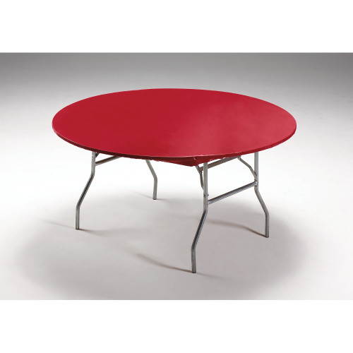 """Club Pack of 12 Red Disposable Picnic Party Table Covers 60"""" - IMAGE 1"""