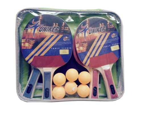 Deluxe Ping Pong Game Set with Carry Case - IMAGE 1
