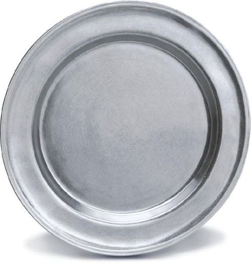 """Pack of 2 Classic Hand Crafted Statesmetal Kitchen Dining Charger Plates 13.75"""" - IMAGE 1"""