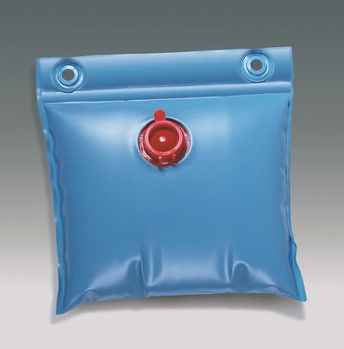"""13"""" Blue Above Ground Winter Swimming Pool Cover Wall Bag Water Weight - IMAGE 1"""