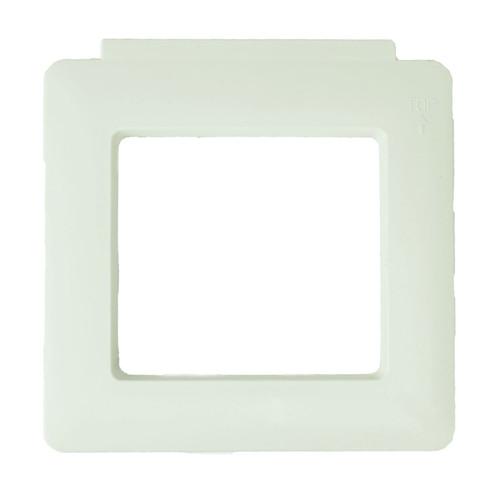 "8.5"" White Swimming Pool Vanity Trim Skimmer Face Plate - IMAGE 1"