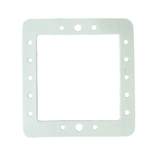 8.25-Inch White Hydrotools Swimming Pool Butterfly Gasket for Wall Skimmers - IMAGE 1