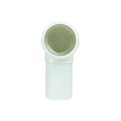 """4.25"""" White Hydro Tools Swimming Pool or Spa Straight Slip Elbow Fitting - IMAGE 1"""