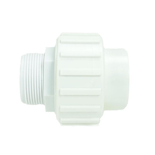 3.75'' White Standard ABS Female and Male Threaded Union for Swimming Pool - IMAGE 1