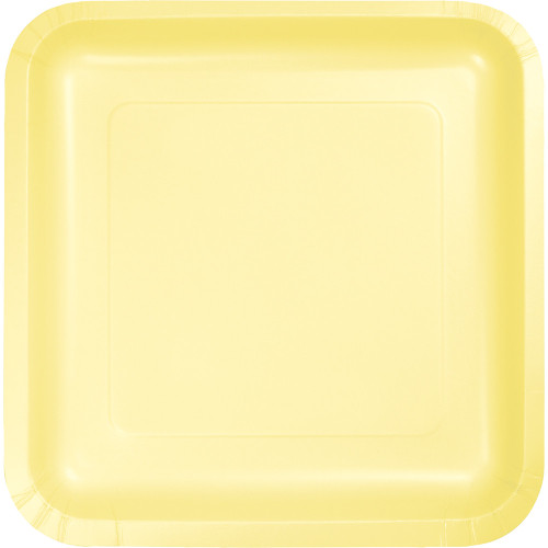 """Pack of 180 Mimosa Premium Disposable Paper Party Lunch Plates 7"""" - IMAGE 1"""