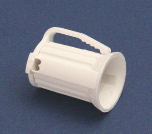 Club Pack of 100 C9 White Christmas Light Bulb Sockets - For 18 Gauge Wire - IMAGE 1