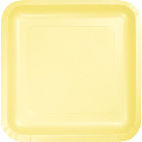 """Pack of 180 Mimosa Premium Disposable Paper Party Dinner Plates 9"""" - IMAGE 1"""