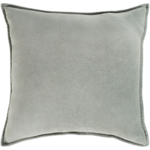 "13"" x 20"" Chastity's Blush of Pureness Dark Timberwolf Silver Decorative Throw Pillow - IMAGE 1"