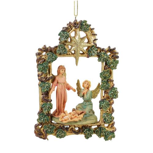"5.5"" Fontanini Watching Angels Christmas Nativity Ornament - IMAGE 1"