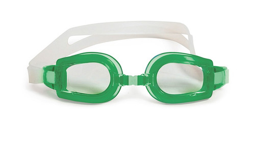 """6"""" Green Vantage Competition Adjustable Swimming Pool Goggles - IMAGE 1"""