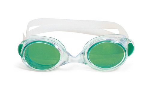 6.5 Green Vantage Competition Adjustable Kids Swimming Pool Goggles - IMAGE 1