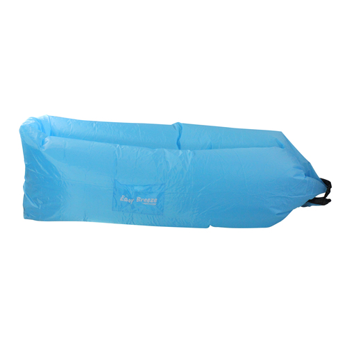 Inflatable Blue Easy Breeze Land or Water Air Sofa, 94-Inch - IMAGE 1
