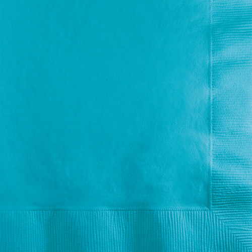 """Club Pack of 600 Blue 2-Ply Disposable Party Beverage Napkins 5"""" - IMAGE 1"""