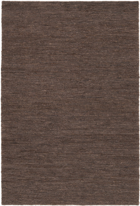 2' x 3' Sweeping Coloration Otter Brown Hand Woven Area Throw Rug - IMAGE 1