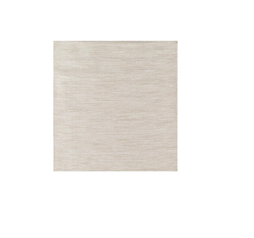 5' x 7.5 Simply Brown and White Contemporary Hand Woven Rectangular Outdoor Area Throw Rug - IMAGE 1