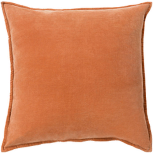 "18"" Brown Contemporary Square Decorative Throw Pillow - Down Filler - IMAGE 1"