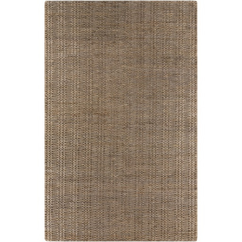 3.5' x 5.5' Taupe Brown Hand Woven Area Throw Rug - IMAGE 1