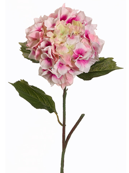"""Pack of 12 Pink Hydrangea Flower Artificial Floral Craft Sprays 23"""" - IMAGE 1"""