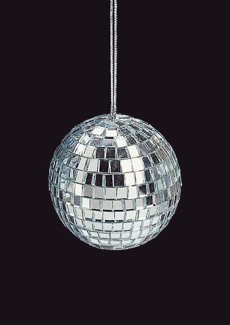 """Club Pack of 144 Petite Treasures Mirrored Glass Disco Ball Christmas Ornaments 1.25"""" (30mm) - IMAGE 1"""