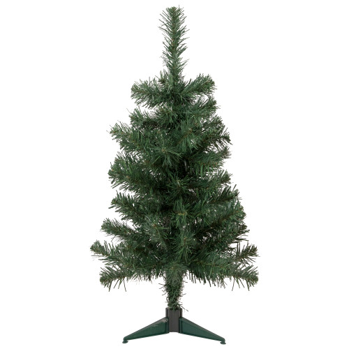 3' Traditional Noble Fir Medium Artificial Christmas Tree - Unlit - IMAGE 1