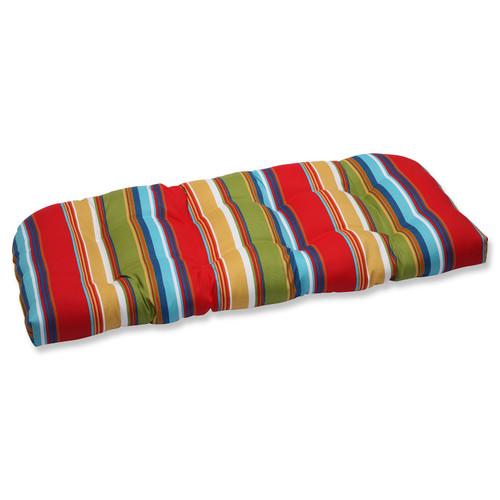 "44"" Westport Garden Outdoor Patio Wicker Loveseat Cushion - IMAGE 1"
