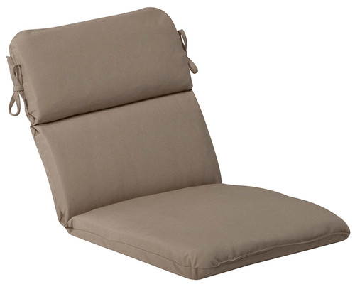 Outdoor Patio Furniture High Back Chair Cushion - Cosmic Beige - IMAGE 1