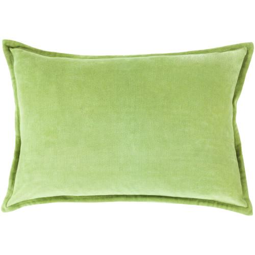 "19"" Green Contemporary Decorative Throw Pillow - IMAGE 1"