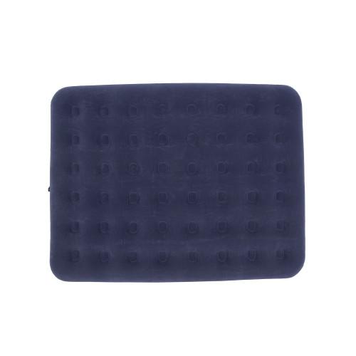 Queen Size Navy Blue Indoor/Outdoor Inflatable Air Mattress - IMAGE 1