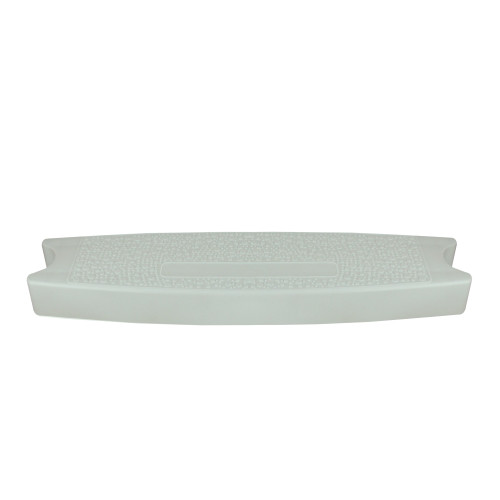 """19.5"""" White Molded Swimming Pool Ladder Replacement Step - IMAGE 1"""