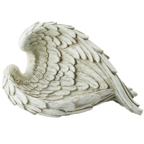 """10.75"""" Religious Angel Wings Outdoor Garden Statue - IMAGE 1"""