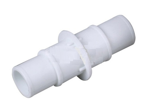 """4.75"""" White Swimming Pool or Spa Vacuum Hose Connector - IMAGE 1"""
