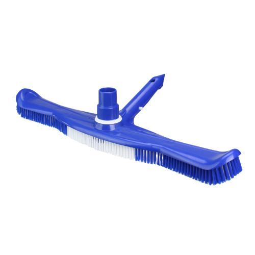 "20"" Blue Swimming Pool Vacuum Brush Head with Swivel - IMAGE 1"