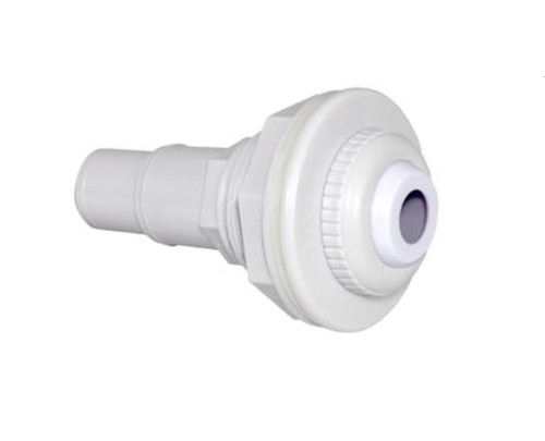 """6"""" White Above Ground Swimming Pool Complete Return Inlet with Gasket and Adapter - IMAGE 1"""
