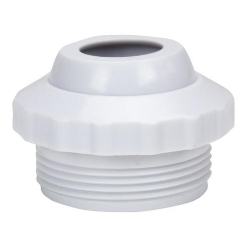 """1.5"""" White Swimming Pool Spa Return Jet Fitting Eye Ball - IMAGE 1"""