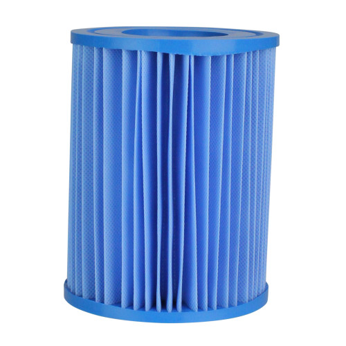 """5.5"""" Blue Inorganic Antimicrobial Pool Replacement Filter Core Cartridge - IMAGE 1"""