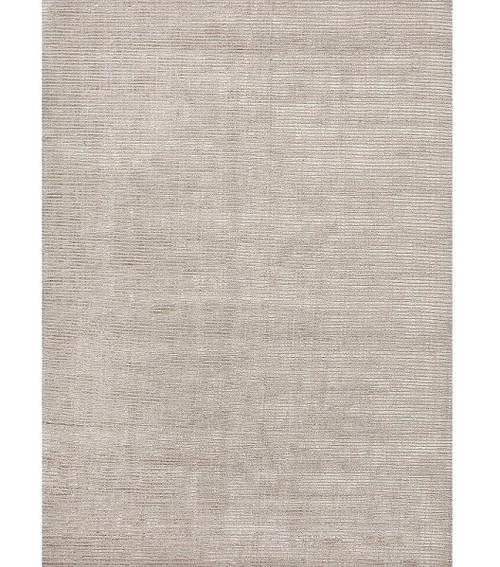10' x 14' Gray Solid Hand Loomed Rectangular Area Throw Rug - IMAGE 1