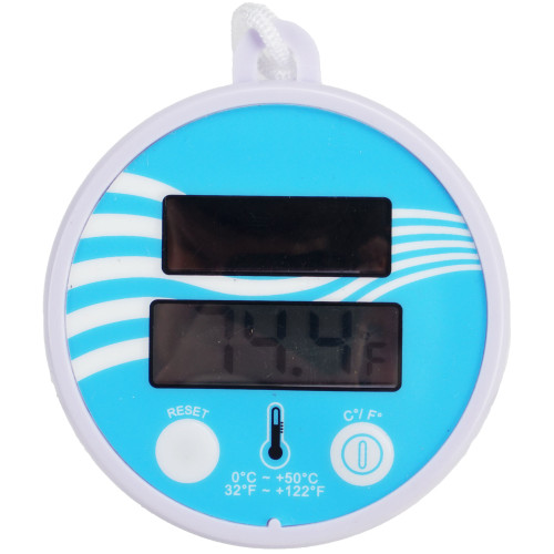 """5.5"""" Solar Powered Floating Digital Swimming Pool and Spa Thermometer - IMAGE 1"""