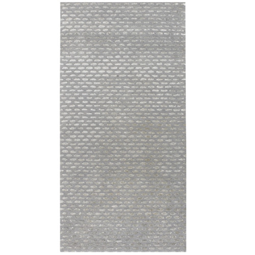 3.5' x 5.5' Gray Hand Tufted Contemporary Wool Area Throw Rug - IMAGE 1