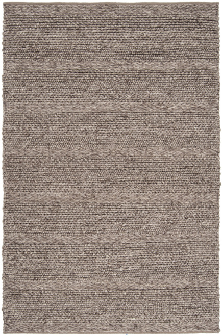 2' x 3' Intertwine Taupe Brown Hand Woven Area Throw Rug - IMAGE 1