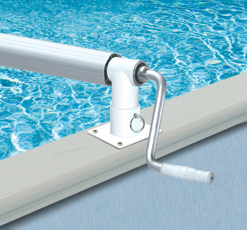 Hydrotools Non-Corrosive Metal Solar Reel System for Above Ground Swimming Pools - IMAGE 1