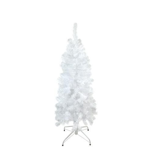 4.5' Pencil White Winston Pine Artificial Christmas Tree - Unlit - IMAGE 1